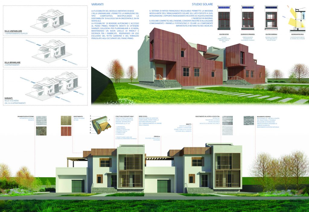 Case in legno: DR-150 progetto abitazione Velletri