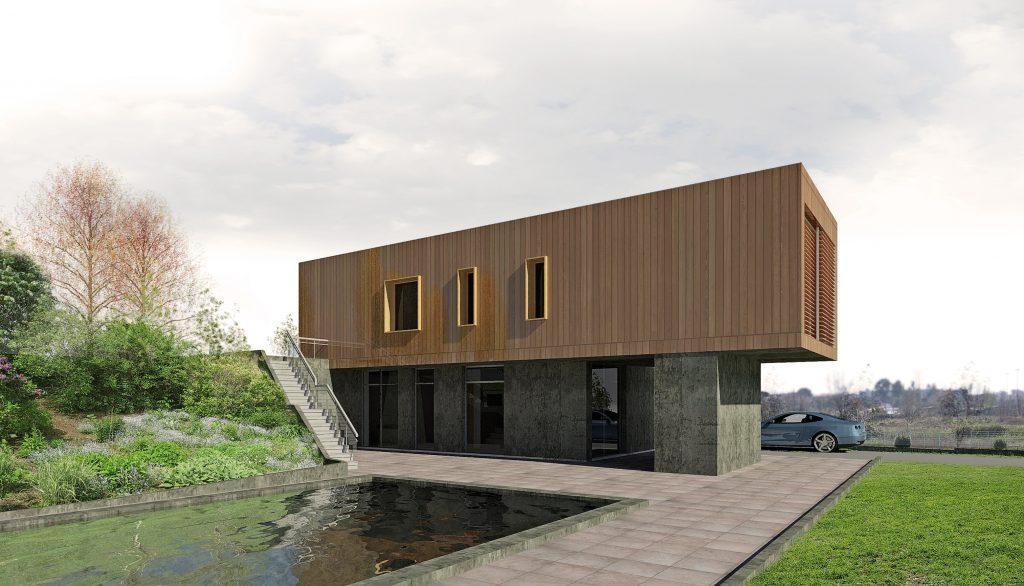 Case in legno: DR-100