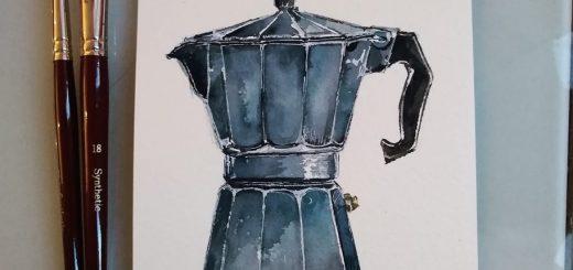 Acquerello mola caffè