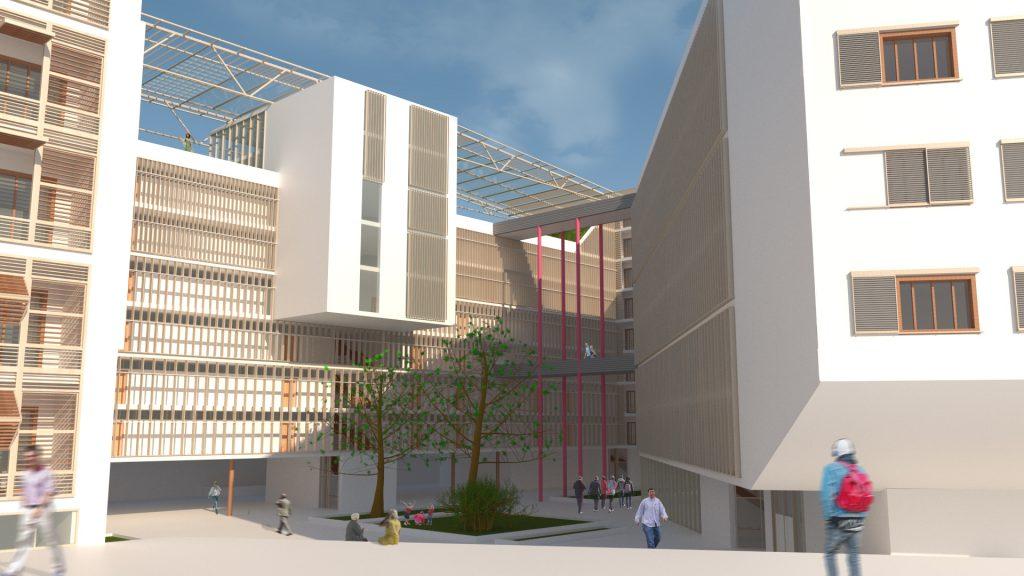 Università San Francisco, progetto