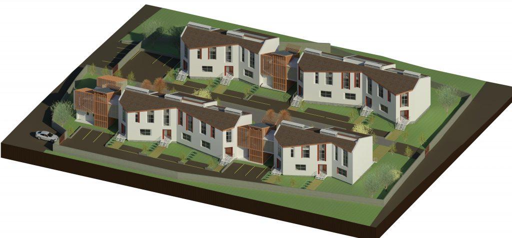 progetto di architettura: quartiere N-Zeb