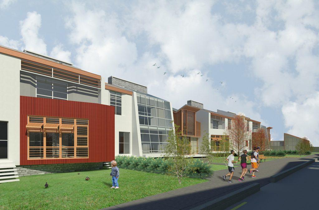progetti di architettura e design: quartiere n-zeb